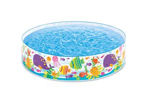 Snap set pool easy up pool 6 ft 15 inch large round kiddie pool $35 for Sale in Industry, CA