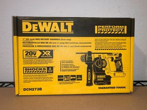 """NEW 1""""SDS ROTARY HAMMER (TOOL ONLY) NO BATERIA NO CARGADOR for Sale in Dallas, TX"""