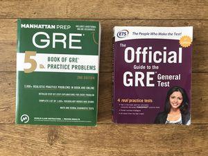 GRE Study Books for Sale in San Luis Obispo, CA