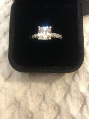 Synthetic 1.25 Carat Princess Cut Diamond Ring for Sale in Sandy, UT