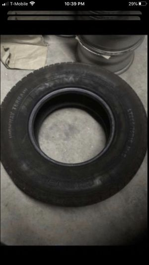 Two tires both 265/75/16. One Sunfull 70% tread and One pathfinder 80% tread for Sale in Temecula, CA