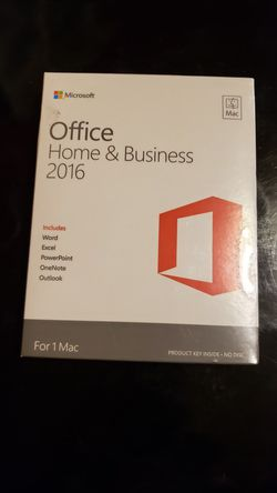 Office home and business 2016 mac for Sale in Bothell,  WA