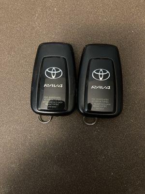 Two Keyless Entry Toyota Key Fobs Rav4 for Sale in Oak Ridge, TN