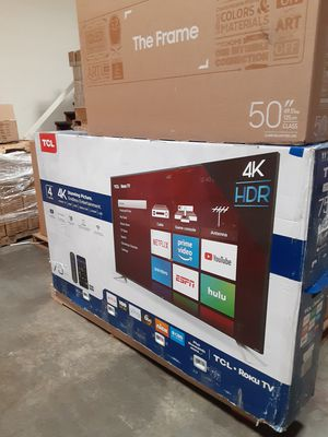 "Tcl 75"" roku smart tv led for Sale in Montclair, CA"
