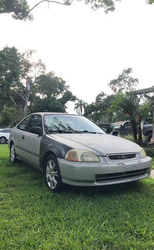 1998 Honda Civic manual for Sale in Clearwater, FL