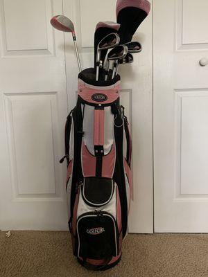 Women's left handed golf clubs. Slightly used. for Sale in Virginia Beach, VA