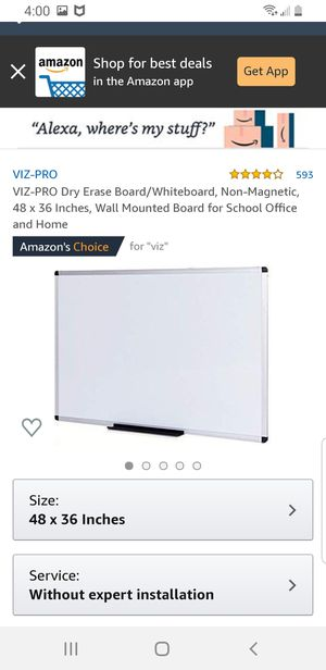 White boards for Sale in Columbus, OH