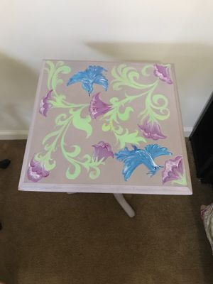 Hand painted bedside table for Sale in Silver Spring, MD