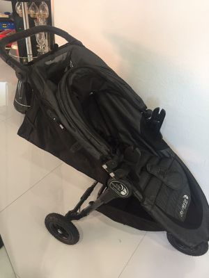 City Jogger Baby Stroller and Car Seat (Booster included) for Sale in Miami, FL