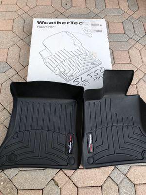 Weather tech Mercedes SL 550 floor mats for Sale in Palm Beach Gardens, FL