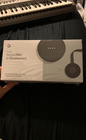 Home mini with chromecast for Sale in Memphis, TN