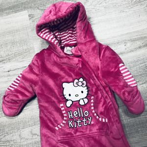 Winter bunting hello kitty sz 0-3/6months for Sale in Norcross, GA
