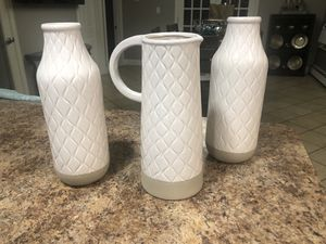 Decorative vases for Sale in Pawtucket, RI