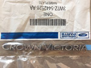 Crown Victoria Ford- Rear Emblem 1998-2011 New/ In Package for Sale in Los Angeles, CA
