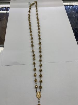 10KT YG Religious Rosary for Sale in Dallas, TX