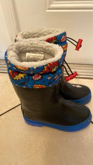Lily and Dan Rain boots size 9/10 for Sale in Fort Lauderdale, FL