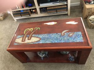 Handmade coffee table and two end tables. for Sale in New Port Richey, FL