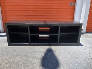 Large Black TV Stand Entertainment Center for Sale in Brandon, FL