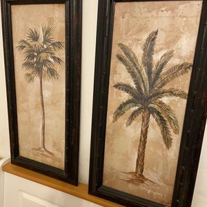 2 Palm Tree Paintings for Sale in Centreville, VA