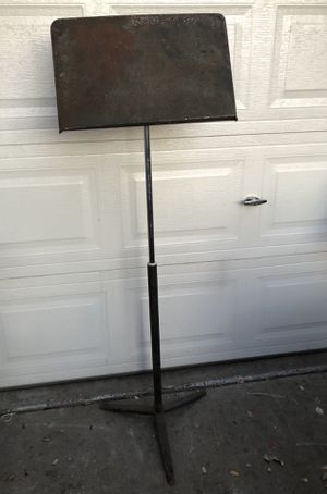 Vintage Wenger Symphony Musical Notes Adjustable Stand for Sale in Fresno, CA