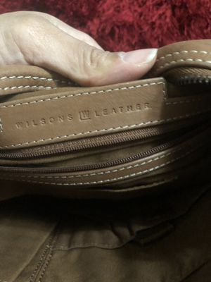 Wilson's leather handbag cream colored for Sale in Windsor, ON