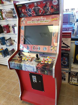 Coin operated arcade machine over 1000 games very good excellent NEW for Sale in Tolleson, AZ