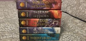 The Heros of Olympus 5 hard cover books for Sale in Chicago, IL