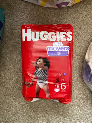 Size 6 Huggies for Sale in National City, CA