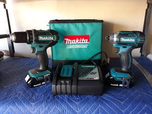 MAKITA 18v Hammer Drill and Impact Driver Combo for Sale in Las Vegas, NV