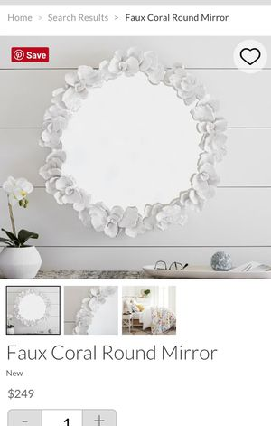 Round mirror Pottery Barn for Sale in New York, NY
