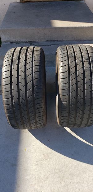 A pair of lionheart tires size 275 -30 20 , 80 percent tire life left for Sale in Bell Gardens, CA