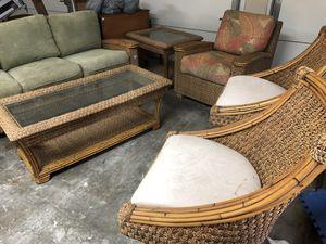 Rattan wicker furniture set for Sale in Victoria, TX