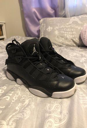 Black/White Air Jordan 6 Rings for Sale in Marysville, WA