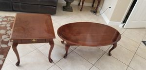 Coffee table and end table for Sale in Coral Springs, FL