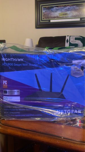 Nighthawk AC1900 Router $100 for Sale in Tacoma, WA