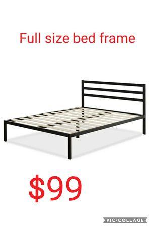 Full size bed frame for Sale in Las Vegas, NV