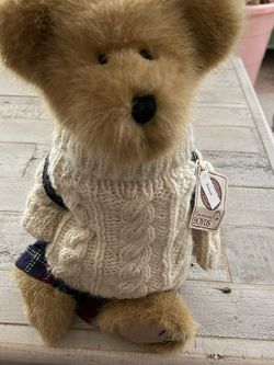 Boyds Bears Kendall B. Learnin Plush Retired Style 912661 Sweater Backpack 12in for Sale in Peyton,  CO