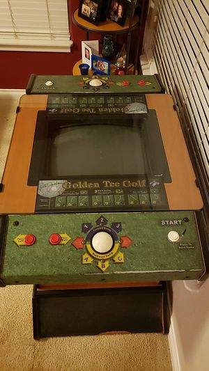 Arcade Golden Tee Golf game for Sale in Mill Creek, WA