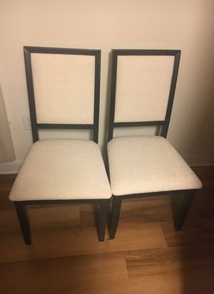 Pair of Coaster dining chairs for Sale in Alexandria, VA