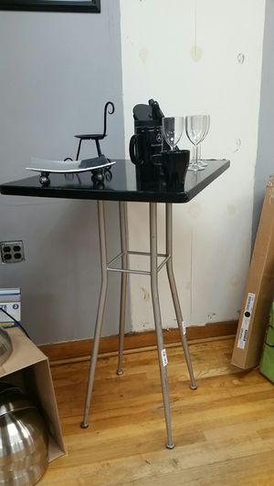 Black Tall Table for Sale in Washington, DC