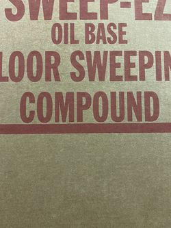 Floor Sweeping Compound / Powder for Sale in Denver,  CO