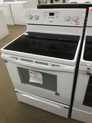 Whirlpool White Electric Range on sale for Sale in Norcross, GA