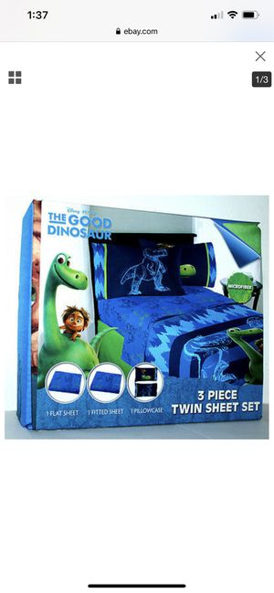 Disney the good dinosaur bed set for Sale in South Gate, CA