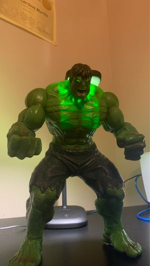 Very cool Hulk Action Figure!!! for Sale in Fuquay-Varina, NC