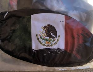 Stretchy MEXICAN FLAG Face Covering for Sale in Pomona, CA