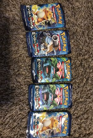 Evolutions XY Pokemon packs for Sale in Tomball, TX