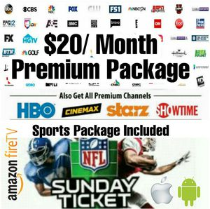 IPTV FOR FIRESTICK & ANDROID DEVICES for Sale in Niagara Falls, NY