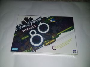 New Trivial Pursuit totally 80's for Sale in Canton, MI