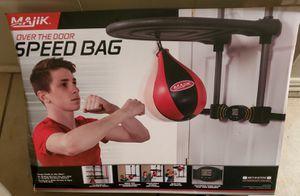 Over the door speed bag for Sale in San Pedro, CA