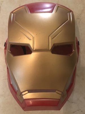 HALLOWEEN COSTUME: MARVEL IRONMAN JUMPSUIT W/ MOLDED FACE MASK - SIZE: CHILD 7/8 for Sale in Las Vegas, NV